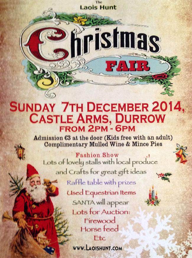 Laois Hunt Christmas Fair